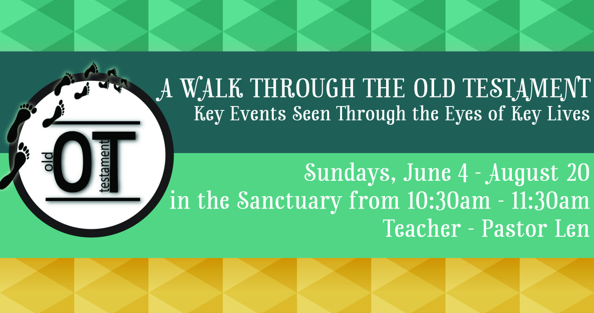 Walk Through the Old Testament Summer Study