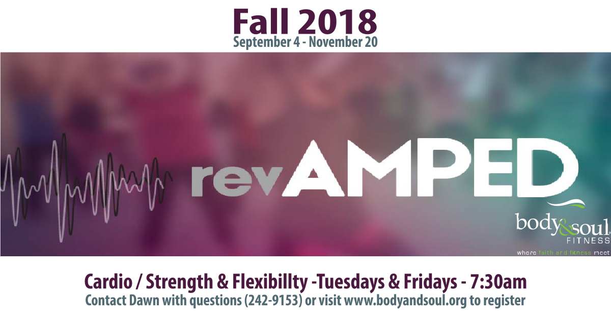 Body & Soul Fitness: Fall 2018 Classes